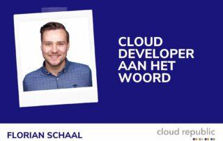 Cloud developer aan het woord - Florian