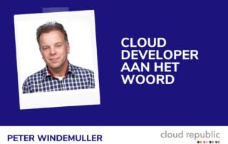 Cloud developer aan het woord - Peter